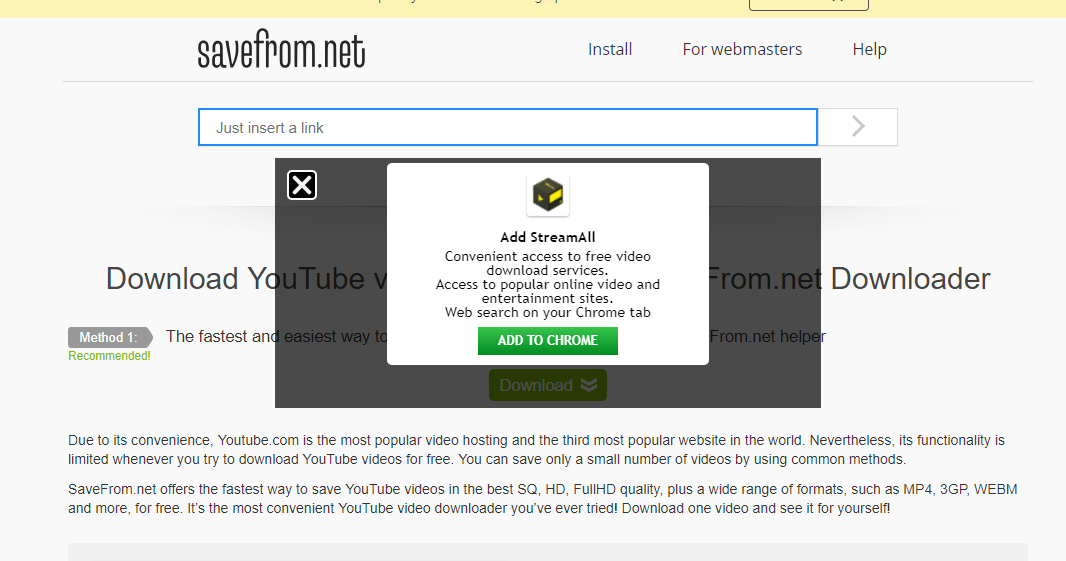 Step 3 How to Download YouTube Videos in Laptop PC